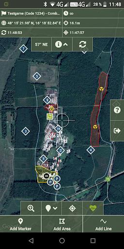 TraceForce: Captures d'écran MilSim Tracker & Map 3