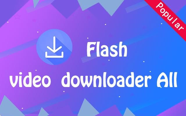 Flash Video Downloader All