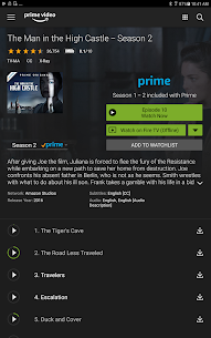 Amazon Prime Video App Download For Android and iPhone 6