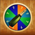 Spin bottal funny game icon
