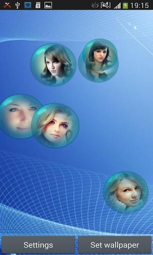 Photo Bubble Live Wallpaper