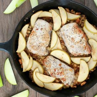Apple Baked Pork Chops.