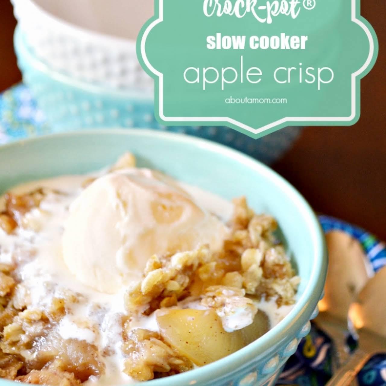 Crock-Pot® Slow Cooker Apple Crisp