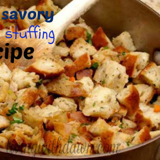 Easy Savory Turkey Stuffing