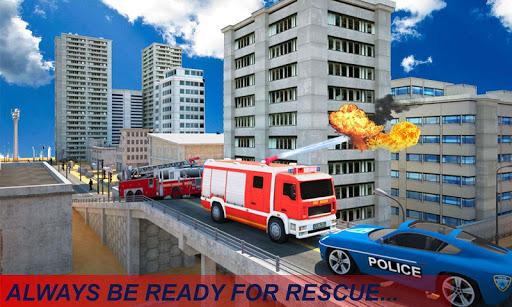 Code Triche Fire Truck Emergency Rescue APK Mod screenshots 1