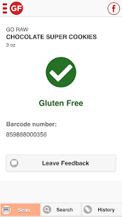 The Gluten Free Scanner- screenshot thumbnail