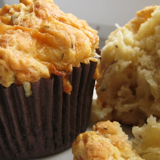 Savoury Cheddar & Herb Muffins Recipe