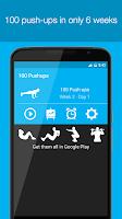 Screenshot of 100 Pushups