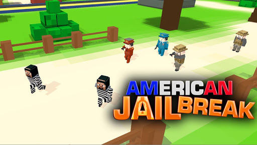 American Jail Break - Block Strike Survival Games 5.5 screenshots 1