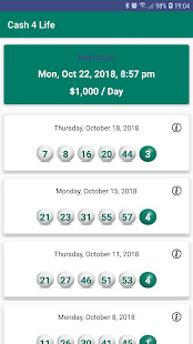 Cash4Life Lottery Results for PC / Windows 7, 8, 10 / MAC