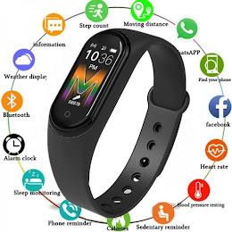 Bratara fitness V.M5 cu Bluetooth, BPM, SPO2, MMHG