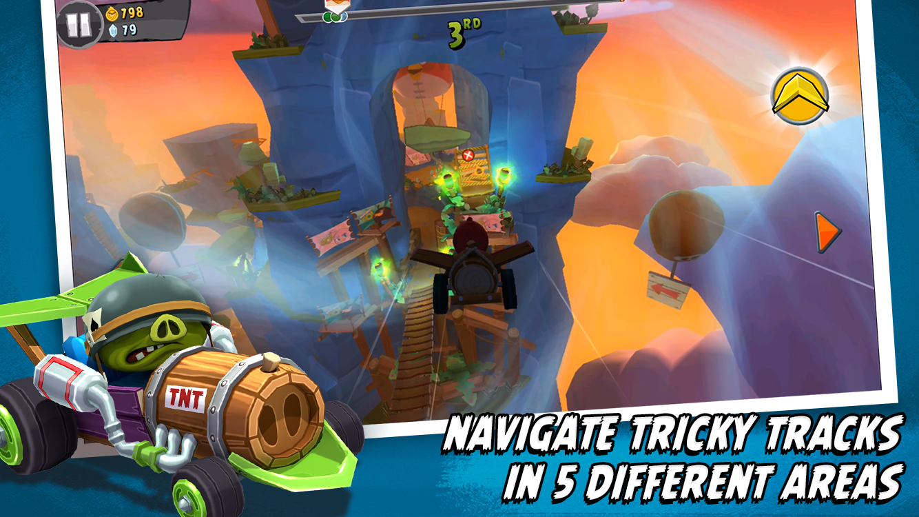 Angry Birds Go! screenshot #3