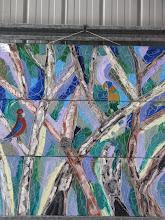 Photo: Falls Creek Parrots Oil 90cmx90cm $300
