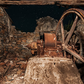 Old water pump by Grigoris Koulouriotis - Artistic Objects Industrial Objects ( old, pump, industry, machine,  )