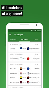 GoalAlert Football Live Scores Fixtures Results- screenshot thumbnail
