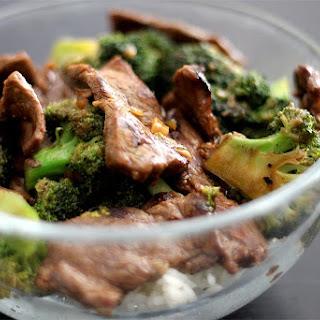 Awesome Broccoli Beef.