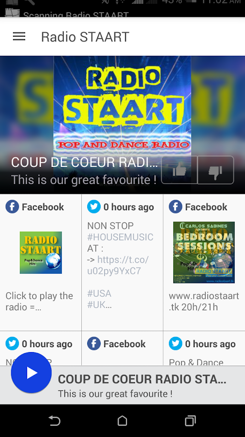 Radio STAART- screenshot