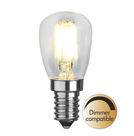 Päronlampa klar LED Dimbar 220lm