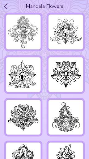 Mandala Coloring Book 3.1.4 screenshots 8