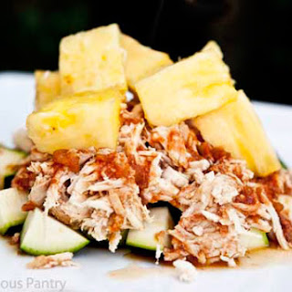Clean Eating Slow Cooker Pineapple Chicken.