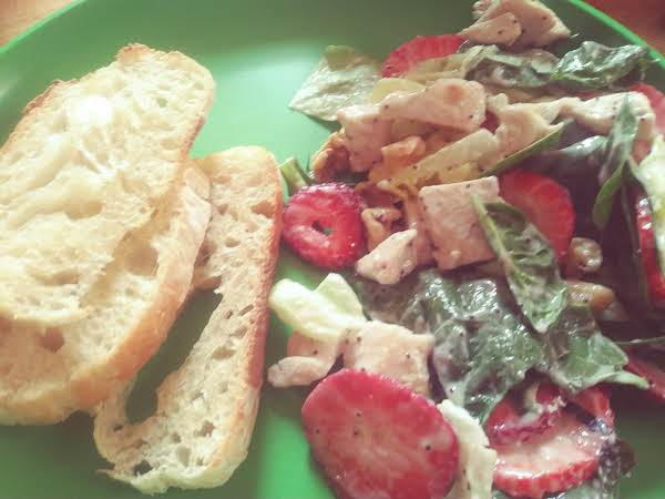 An Easy To Make Refreshing Spring And Summer Dinner Salad!