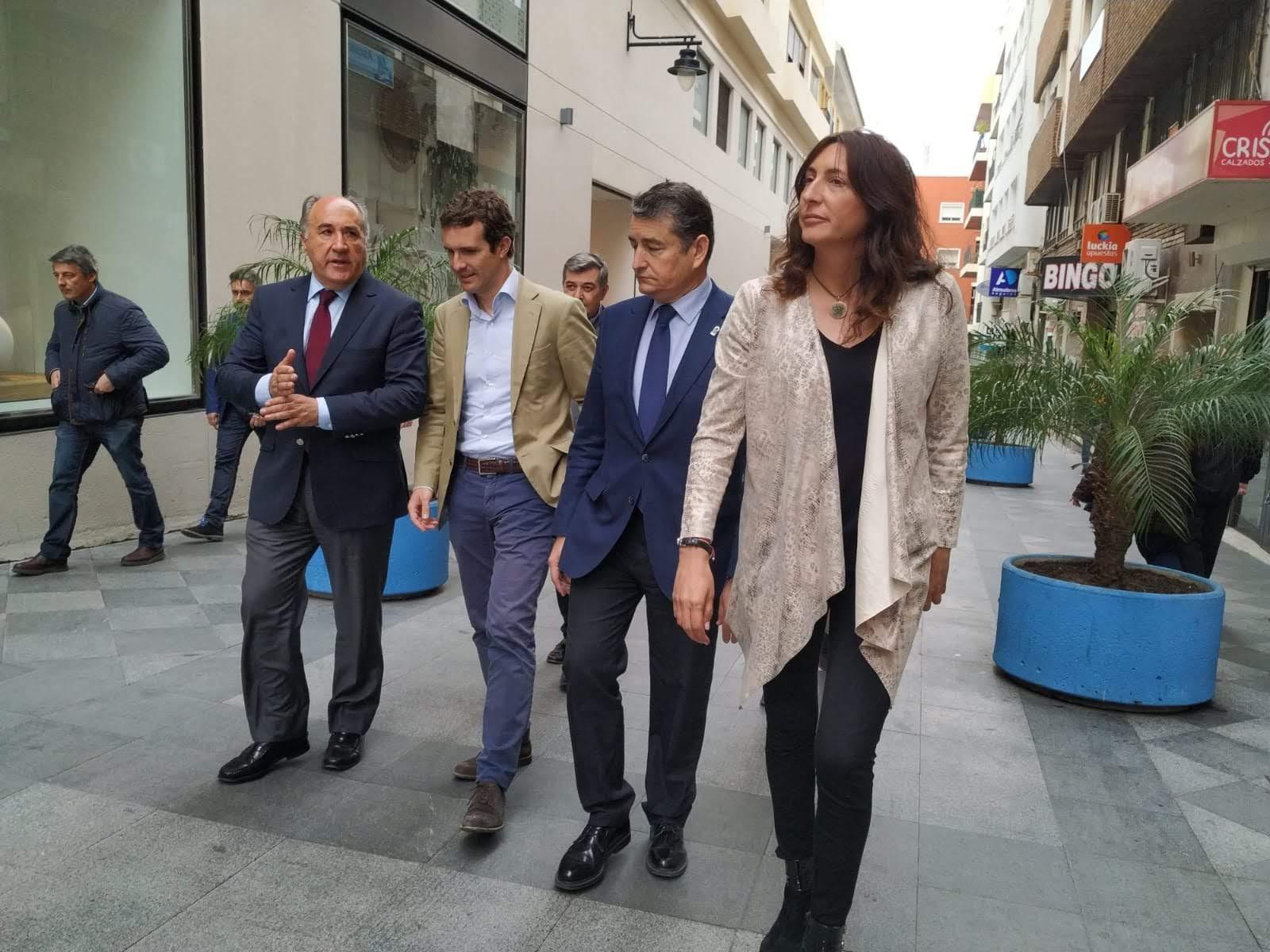 Pablo Casado visita Algeciras para unas jornadas de trabajo