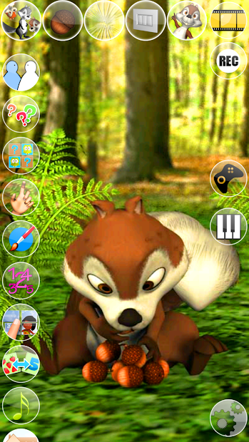 Talking James Squirrel screenshot 12