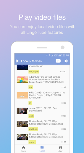 LingoTube - Language learning with streaming video 1.5.2 screenshots 5
