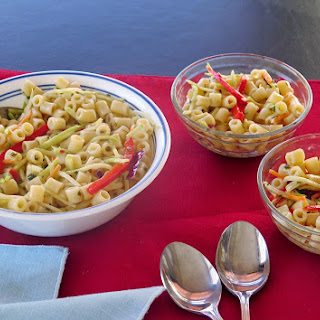 Chill Chasing Matchstick Vegetable Pasta Salad