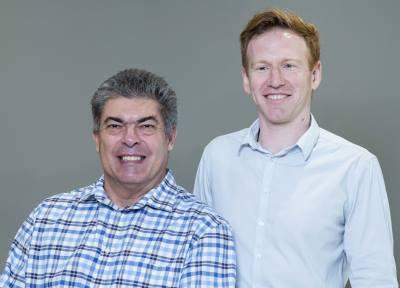 Left: Gerhard Gouws and Jeremy Lichtenstein