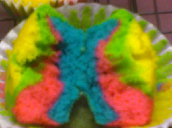 Tie-dyed Cupcakes Recipe