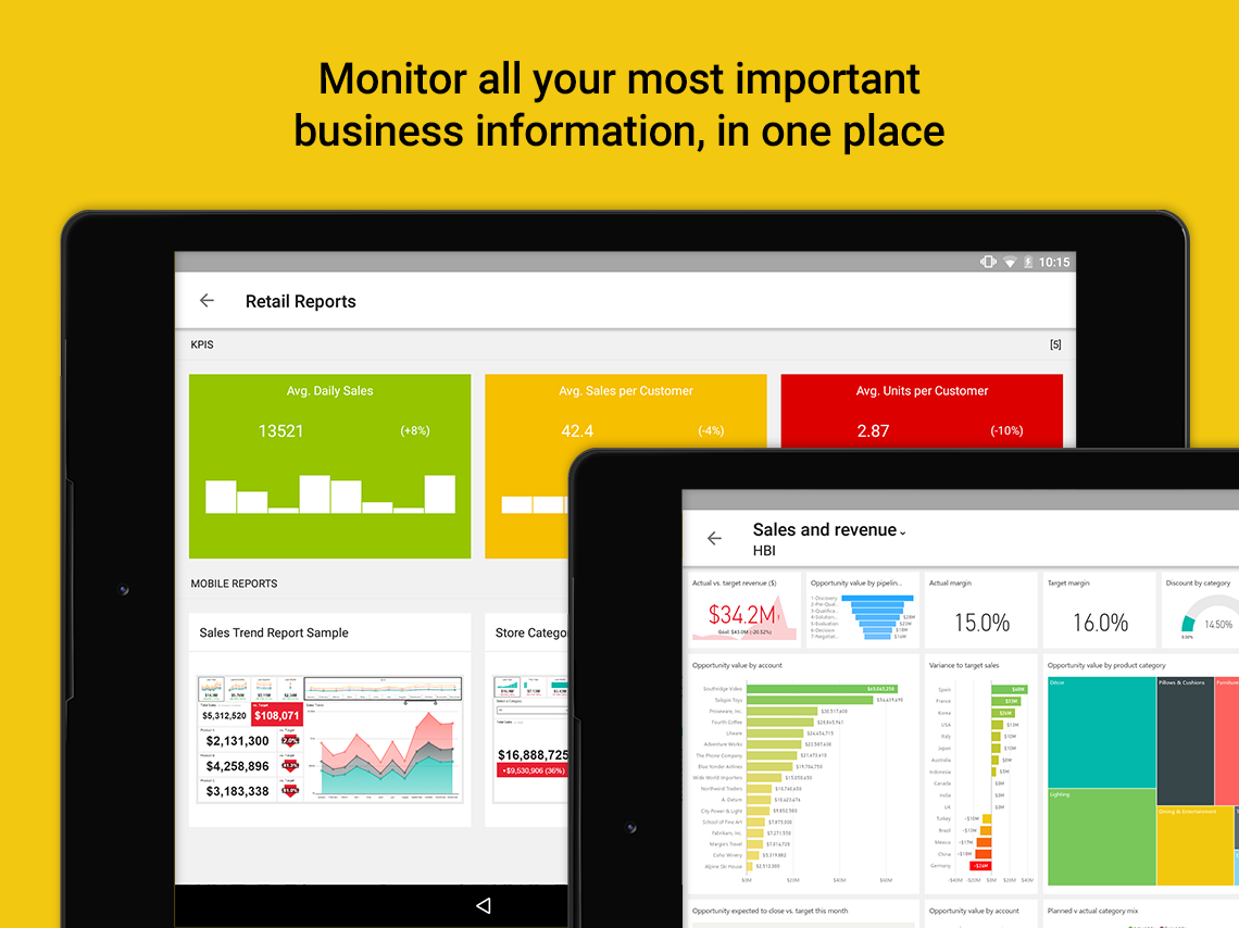 Microsoft Power BI- screenshot