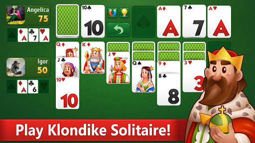 Klondike Solitaire: PvP card game with friends 31.4.14 screenshots 1