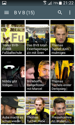 android Live Football Score Bundesliga Screenshot 3