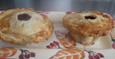 """Set of two 5"""" Cherry Pies"""