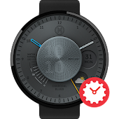 Charcoal Blues watchface by Bellox