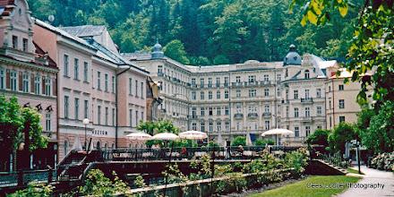 Photo: 11 mei. Tsjechië. Karlovy Vary (Karlsbad). Hotel Pupp.