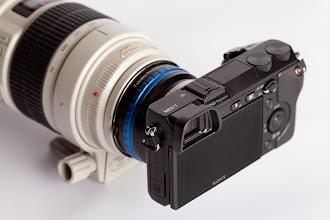 Photo: Nex-7 w/ Canon 70-200mm Lens