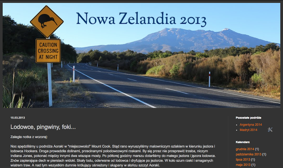 Nowa Zelandia 2013