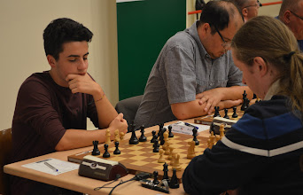 Photo: Spitzenbrett 1. Runde
