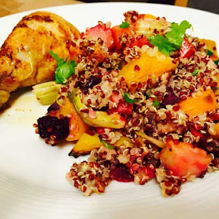 Quinoa Roast Veggies Salad