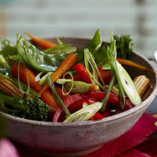 Stir-fried Vegetables in Oyster Sauce.