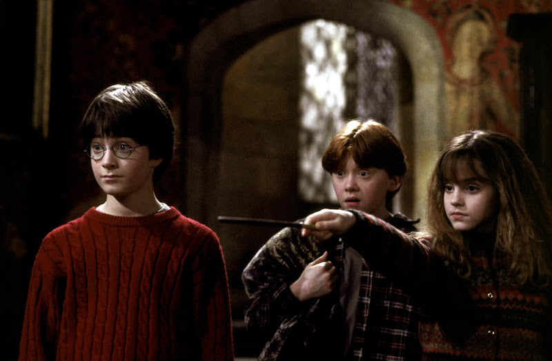 """Photo: Harry Potter and the Sorcerer's Stone - """"Petrificus Totalus!"""""""