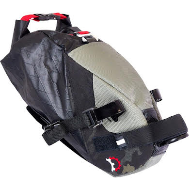 Revelate Designs Vole Seat Bag: Black Camo