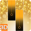 piano gold tiles 2018 APK