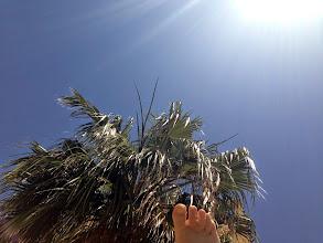 Photo: My foot, it's hot!