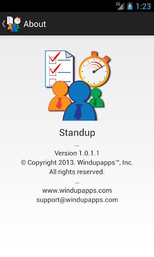 Standup™ Free screenshot 5