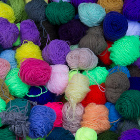 Yarn by Janet Marsh - Artistic Objects Other Objects ( peru, color, yarn,  )