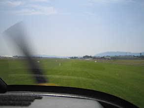 Photo: Starting from the grass runway in Geneva http://www.swiss-flight.net