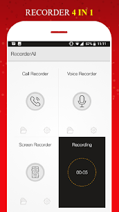 All in 1 Recorder -Call/Voice/Screen/Video App Download For Android 7